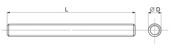 Металлическая шпилька и размеры
